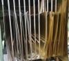 Láminas de alpaca, latón y cobre